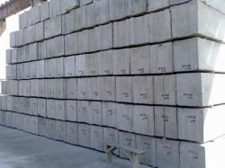 Technical requirements for the manufacture of foundation blocks